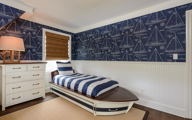 Coastal Kids Bedroom - Heather Ryder Design
