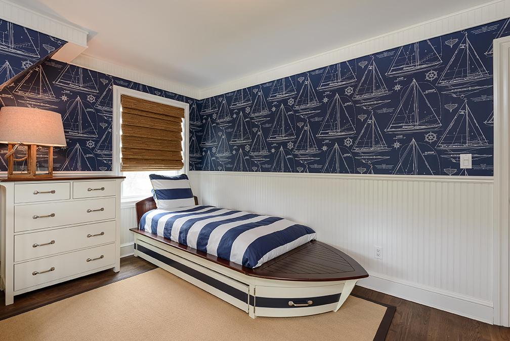 Coastal Kids Bedroom - Heather Ryder Design
