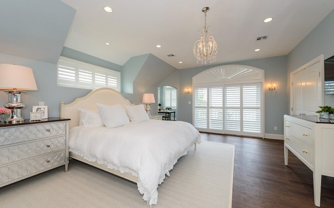 Coastal Bedroom Design - Heather Ryder Design