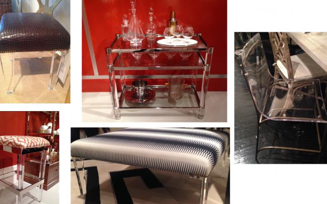 Lucite Interior Design Chairs
