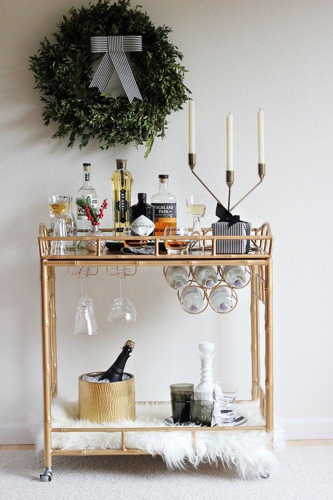 Heather Ryder Design - Holiday Bar Cart