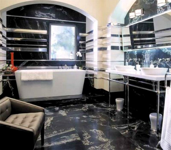 Mr and mrs smith bathroom