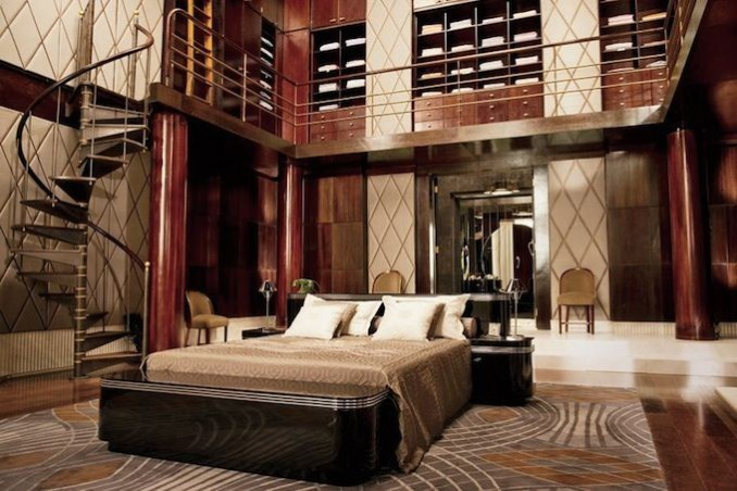 Great Gatsby Bedroom - Heather Ryder Design